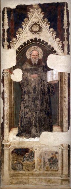 Nardo di Cione, Saint Benedict