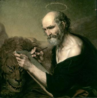 Vladimir Borovikovsky, Saint Mark the Evangelist