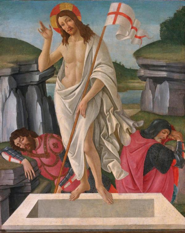 Sandro Botticelli, The Resurrection