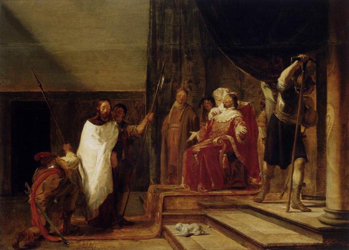 Nicolaus Knüpfer, Christ before Herod Antipas