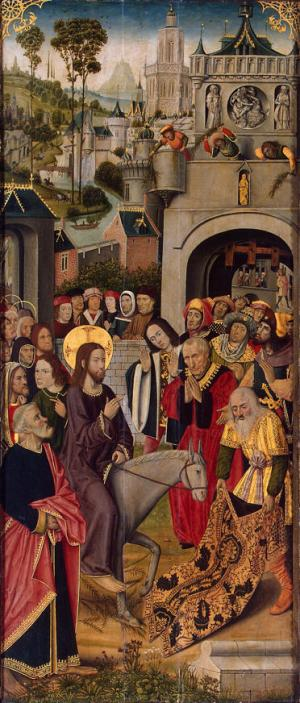 Master of the Thuison Altarpiece, Entry Into Jerusalem