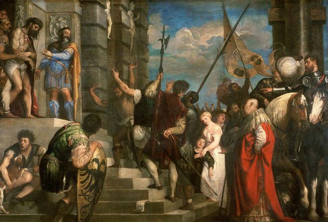 Titian, Ecce Homo, 1543