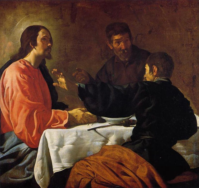 Diego Velázquez, The Supper at Emmaus