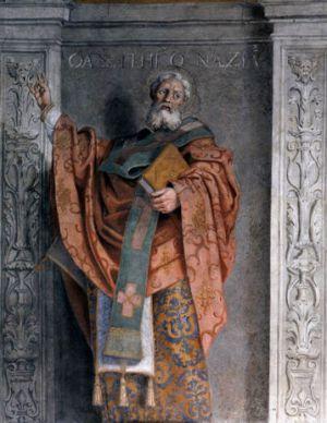 Domenichino, Saint Gregory Nazianzus