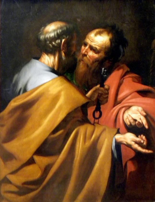 Jusepe de Ribera, Saint Peter and Saint Paul: The Dispute at Antioch