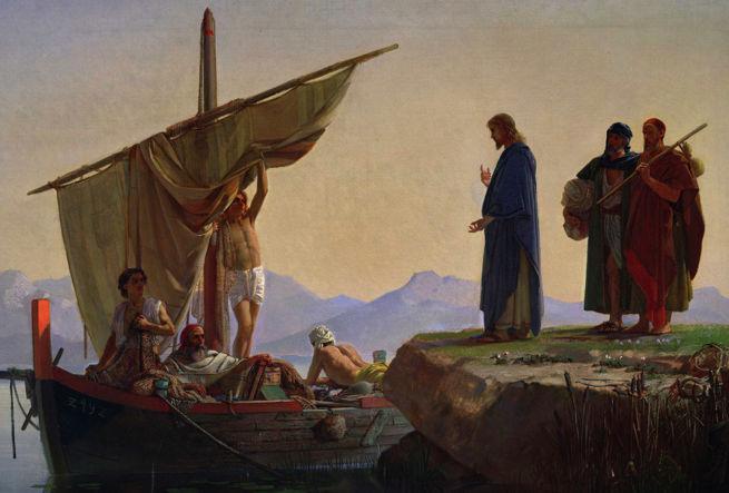 Edward Armitage, Christ Calling the Apostles