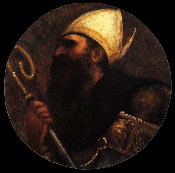 Titian, Saint Augustine