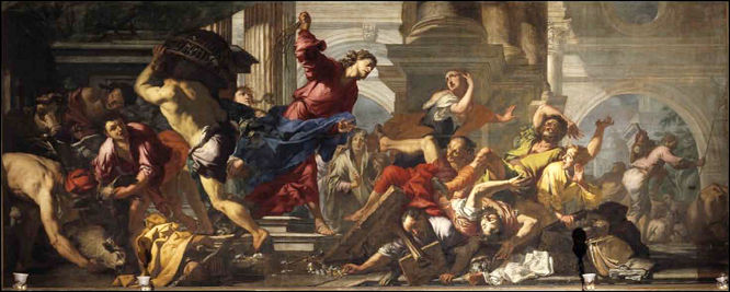 Antonio Zanchi, Expulsion of the Moneychangers from the Temple