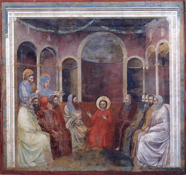 Giotto, Christ Among the Doctors