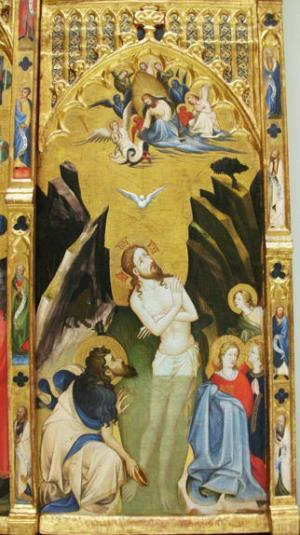 Gherardo Starnina, The Baptism of Christ