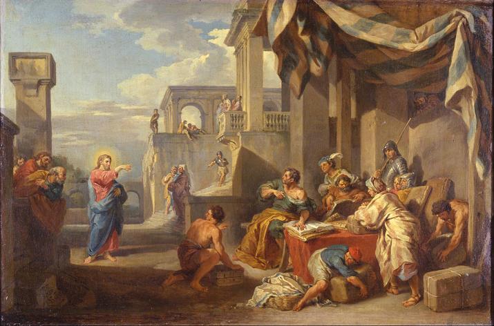 Giovanni Paolo Panini, The Calling of Saint Matthew