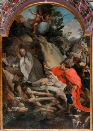 Melchiorre Jeli, Saint Giles Hit by the King's Archers