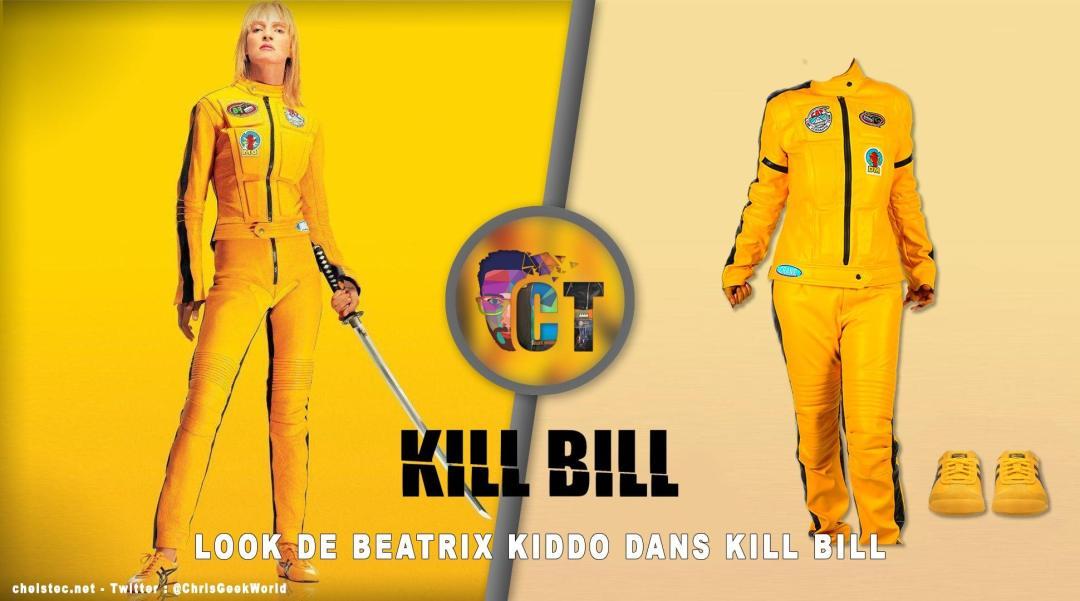 image en-tête look Beatrix Kiddo Kill Bill