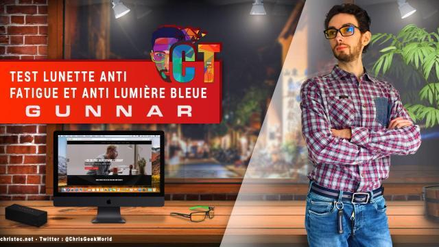 Test des lunettes pour écrans Gunnar HAUS ONYX, lunettes anti fatigue visuelle et anti lumière bleue