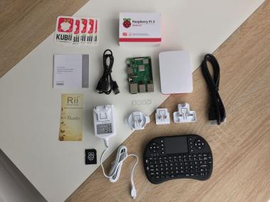 image Test du kit média center Raspberry PI 3 B+ de Kubii 4