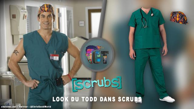 Look du Todd dans la serie Scrubs ( bandana et blouse chirurgicale )