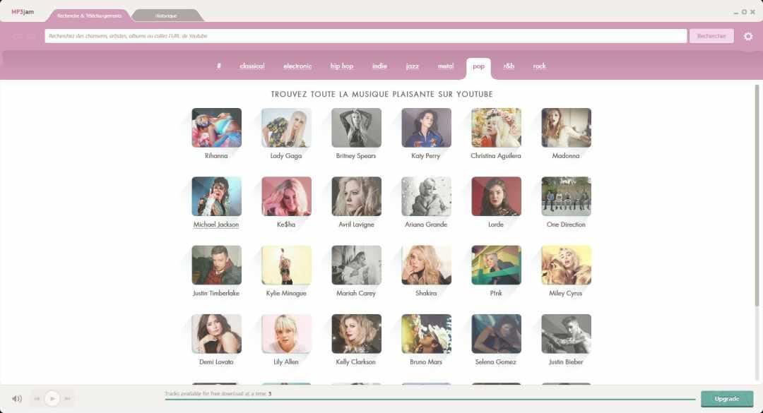 image 6 logiciels pour télécharger de la musique gratuitement 11