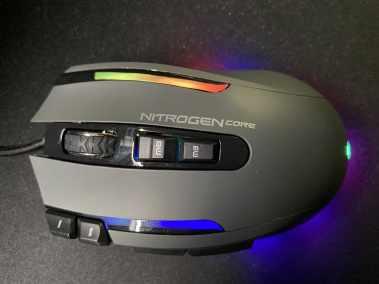image Test de la souris gaming Nitrogen Core RGB personnalisable de G-LAB 8
