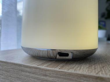 image Test de la lampe de chevet RGB avec batterie intégrée de chez Aukey 13
