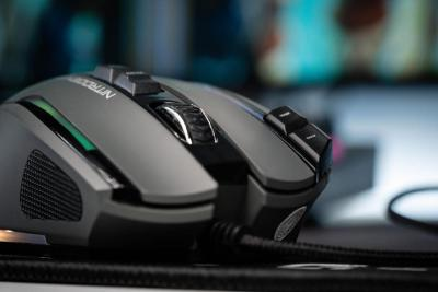 image Test de la souris gaming Nitrogen Core RGB personnalisable de G-LAB 9