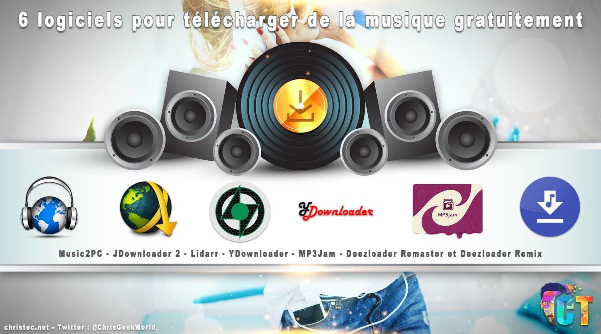 6 logiciels pour télécharger de la musique gratuitement