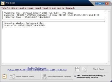 image Tutorielle pour réparer Windows avec le logiciel (Windows repair) 4