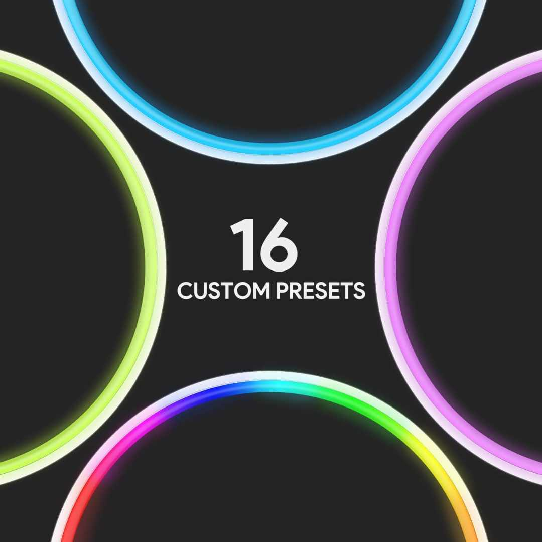 image Test de la lampe à LED multicolore en anneau d'Aukey 11