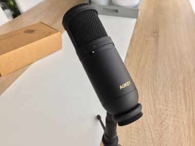 image Test du microphone cardioïde USB Aukey à condensateur 3