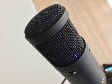 image Test du microphone cardioïde USB Aukey à condensateur 8
