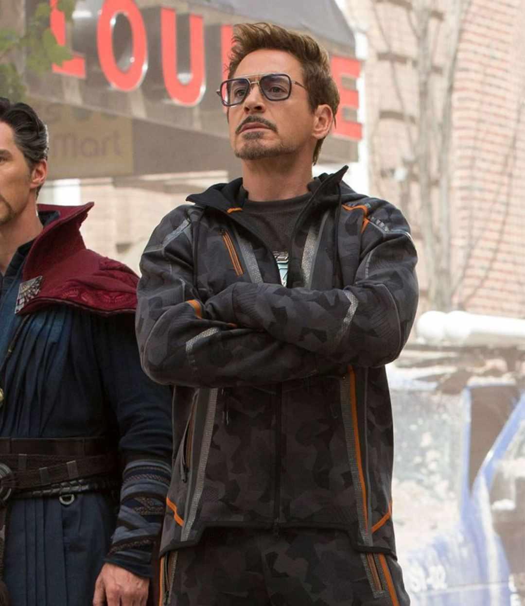 image Look de Tony Stark dans Avengers Infinity War (Veste et Lunettes) 7