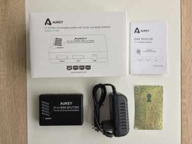 image Test du splitter HDMI 3D et 4K Aukey avec 1 entrée et 4 sorties 2