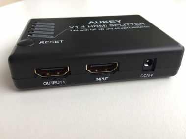 image Test du splitter HDMI 3D et 4K Aukey avec 1 entrée et 4 sorties 4