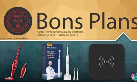 Bons Plans (1) Brosse à dents électrique, aspirateur sans fil et chargeur sans fil