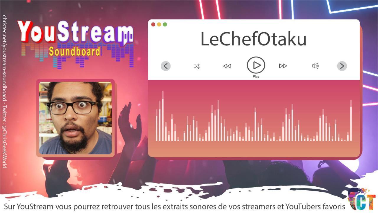 YouStream LeChefOtaku
