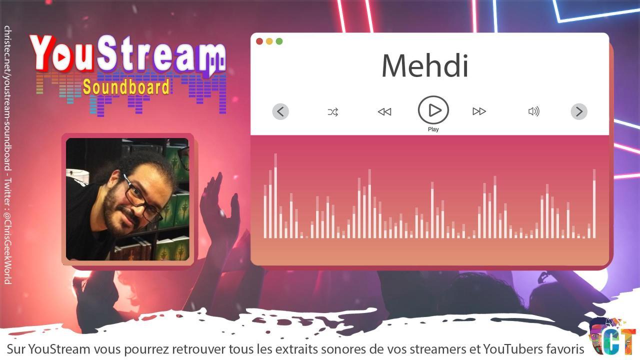 YouStream Mehdi