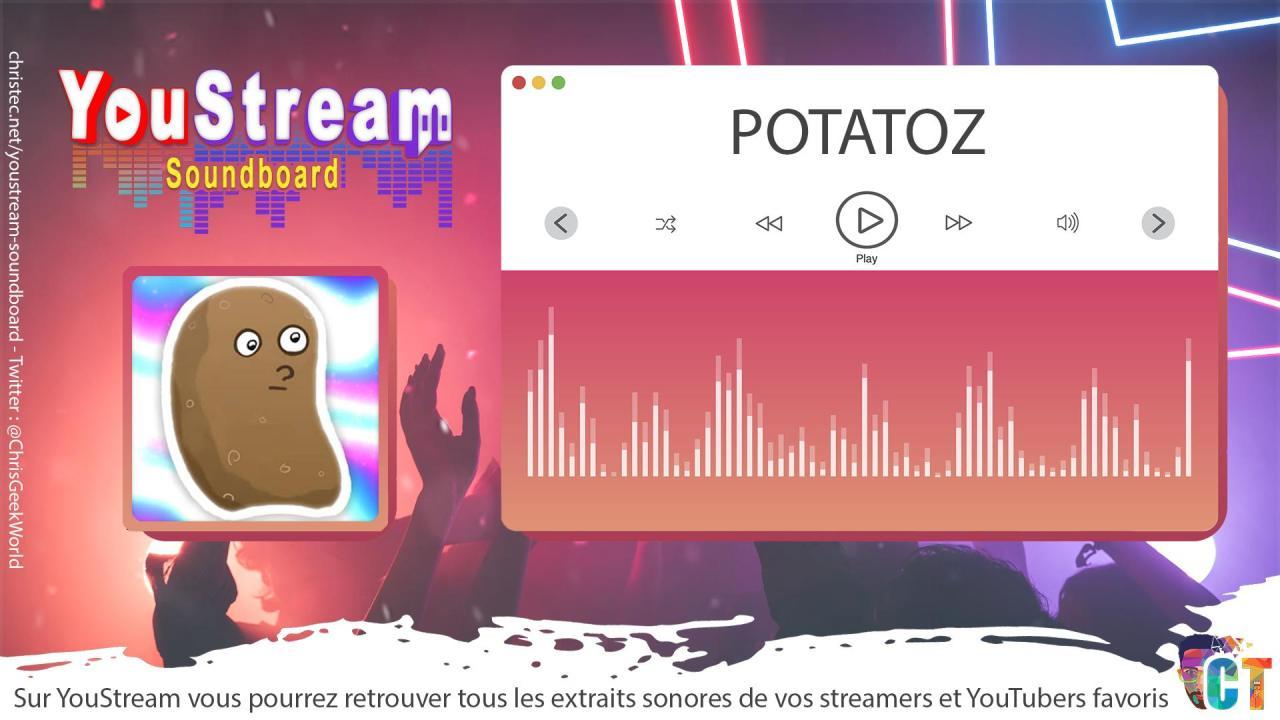 YouStream POTATOZ