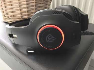 image Test du casque gaming EasySMX avec micro, Son Surround 7.1 et Led RGB pour PC, PS4... 9