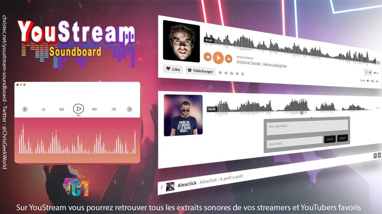 YouStream toutes les infos