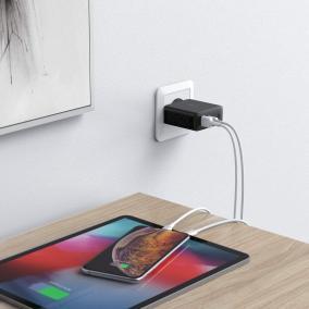 image Test du chargeur secteur USB 30W USB C avec Dynamic Detect de Aukey 10