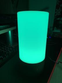 image Test de lampe de chevet Aukey 360° à LED avec contrôle 10