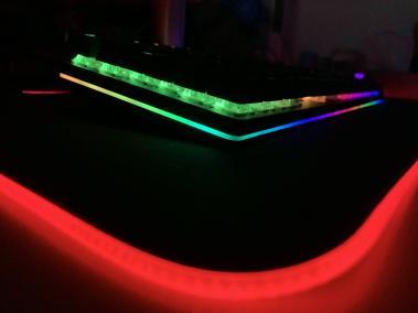 image Clavier mécanique pour gamer avec rétroéclairage RVB de chez Aukey 19