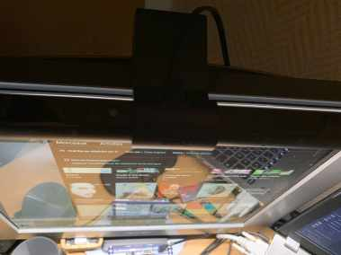 image Test de la ScreenBar de BenQ la lampe de bureau révolutionnaire 15