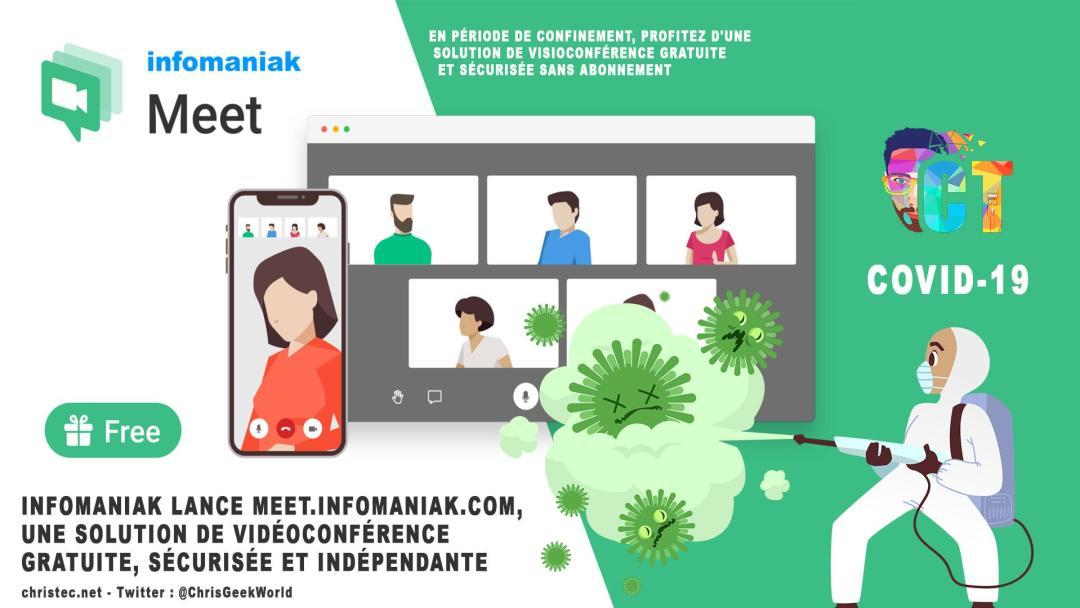 image en-tête Infomaniak lance meet.infomaniak.com, une solution de vidéoconférence gratuite, sécurisée et indépendante