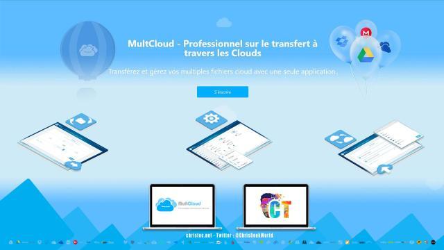 MultCloud permet de gérer tous vos abonnements cloud au même endroit