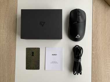 image Test de la souris gamer sans fil Elite Knight de Aukey 3