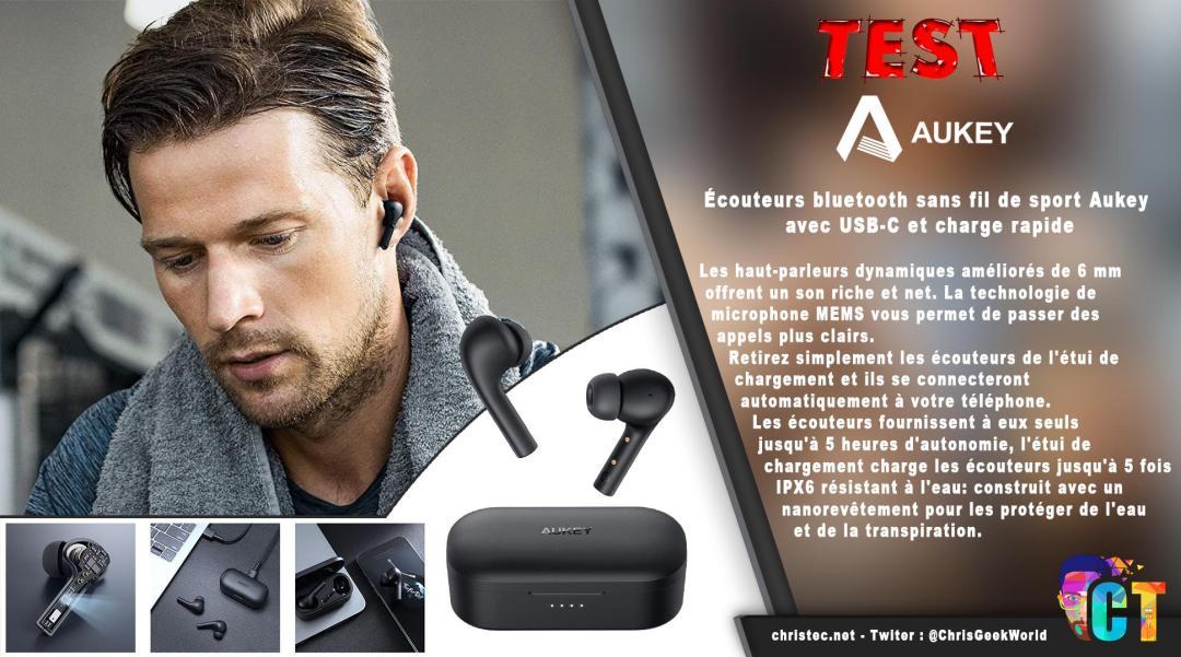 image en-tête Test des écouteurs Bluetooth EP-T21S, avec 30 H d'autonomie et étanchéité IPX6