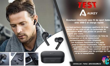 Test des écouteurs Bluetooth EP-T21S, avec 30 H d'autonomie et étanchéité IPX6