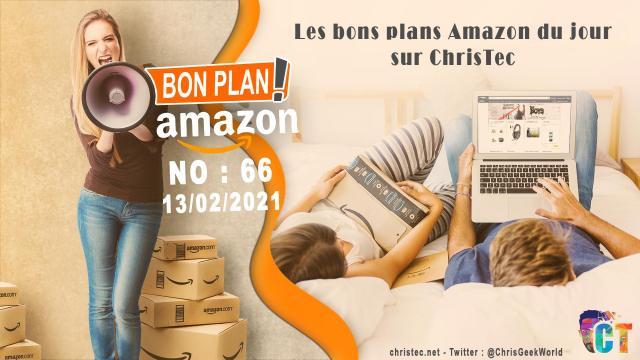 Bons Plans Amazon (66) 13 / 02 / 2021