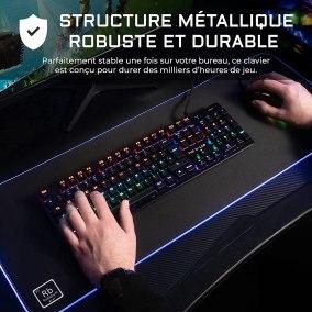 image Test du clavier mécanique gamer G-LAB Keyz CARBON V3 13