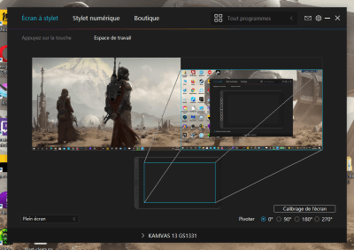 image Test de la tablette graphique avec écran Huion kamvas 13 40